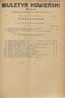Biuletyn Kowieński Wilbi. 1932, nr 764 (22 listopada)