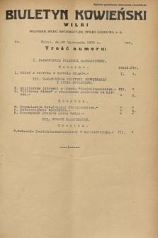 Biuletyn Kowieński Wilbi. 1932, nr 767 (26 listopada)