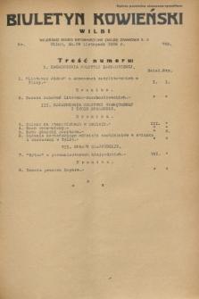 Biuletyn Kowieński Wilbi. 1932, nr 769 (29 listopada)