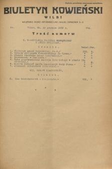Biuletyn Kowieński Wilbi. 1932, nr 774 (10 grudnia)