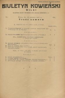 Biuletyn Kowieński Wilbi. 1932, nr 775 (13 grudnia)