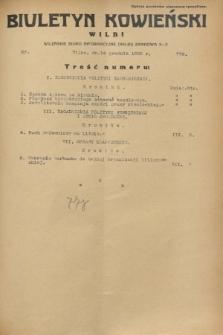 Biuletyn Kowieński Wilbi. 1932, nr 776 (14 grudnia)