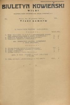 Biuletyn Kowieński Wilbi. 1932, nr 777 (17 grudnia)