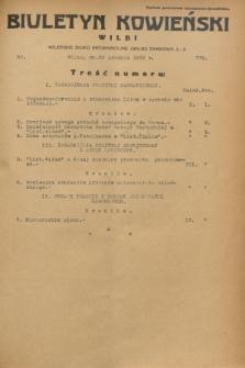 Biuletyn Kowieński Wilbi. 1932, nr 779 (20 grudnia)