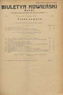 Biuletyn Kowieński Wilbi. 1933, nr 816 (28 lutego)