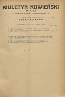 Biuletyn Kowieński Wilbi. 1933, nr 818 (3 marca)