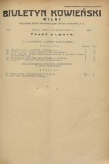 Biuletyn Kowieński Wilbi. 1933, nr 839 (5 kwietnia)