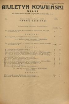 Biuletyn Kowieński Wilbi. 1933, nr 841 (7 kwietnia)