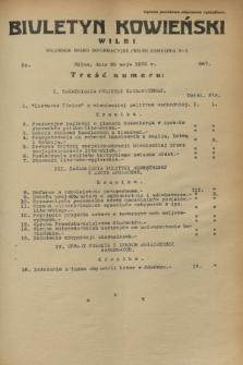 Biuletyn Kowieński Wilbi. 1933, nr 867 (29 maja)