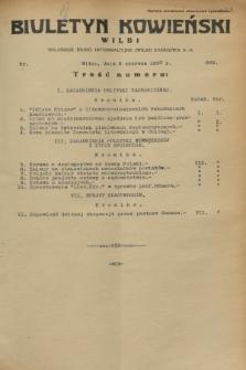 Biuletyn Kowieński Wilbi. 1933, nr 869 (2 czerwca)