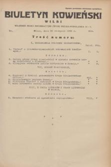 Biuletyn Kowieński Wilbi. 1933, nr 914 (30 sierpnia)
