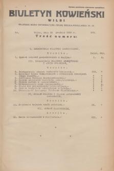 Biuletyn Kowieński Wilbi. 1933, nr 979 (30 grudnia)