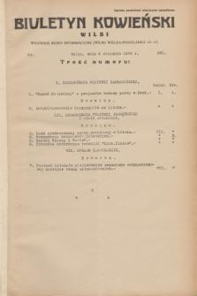 Biuletyn Kowieński Wilbi. 1934, nr 981 (4 stycznia)