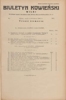 Biuletyn Kowieński Wilbi. 1934, nr 983 (9 stycznia)