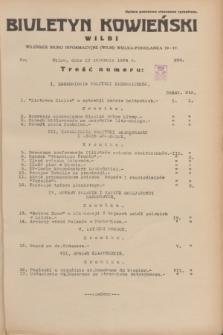 Biuletyn Kowieński Wilbi. 1934, nr 984 (10 stycznia)