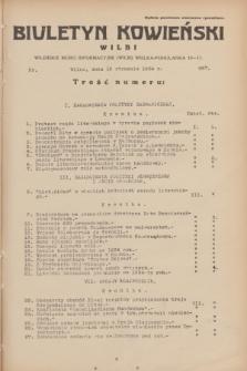 Biuletyn Kowieński Wilbi. 1934, nr 987 (15 stycznia)