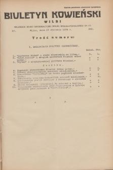 Biuletyn Kowieński Wilbi. 1934, nr 989 (17 stycznia)