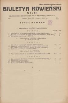 Biuletyn Kowieński Wilbi. 1934, nr 990 (18 stycznia)