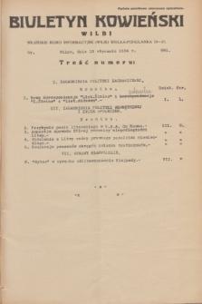 Biuletyn Kowieński Wilbi. 1934, nr 991 (19 stycznia)