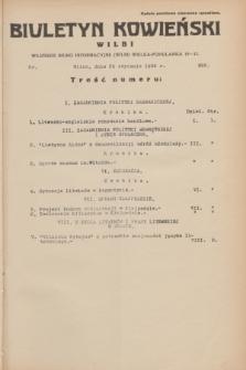 Biuletyn Kowieński Wilbi. 1934, nr 995 (25 stycznia)