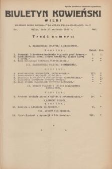 Biuletyn Kowieński Wilbi. 1934, nr 997 (27 stycznia)