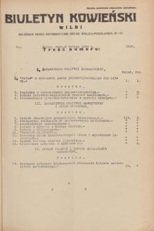 Biuletyn Kowieński Wilbi. 1934, nr 1000 (3 lutego)