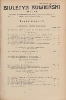 Biuletyn Kowieński Wilbi. 1934, nr 1010 (21 lutego)