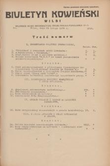 Biuletyn Kowieński Wilbi. 1934, nr 1012 (24 lutego)