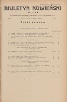 Biuletyn Kowieński Wilbi. 1934, nr 1017 (2 marca)