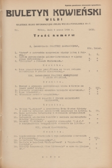 Biuletyn Kowieński Wilbi. 1934, nr 1019 (5 marca)