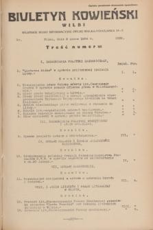 Biuletyn Kowieński Wilbi. 1934, nr 1020 (8 marca)