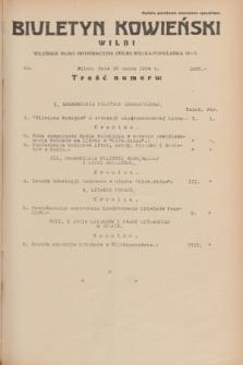 Biuletyn Kowieński Wilbi. 1934, nr 1025 (16 marca)