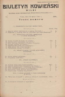 Biuletyn Kowieński Wilbi. 1934, nr 1028 (21 marca)