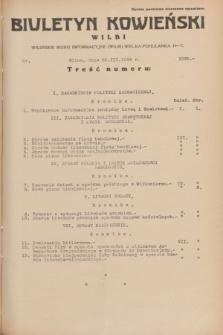 Biuletyn Kowieński Wilbi. 1934, nr 1030 (23 marca)