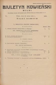 Biuletyn Kowieński Wilbi. 1934, nr 1033 (29 marca)
