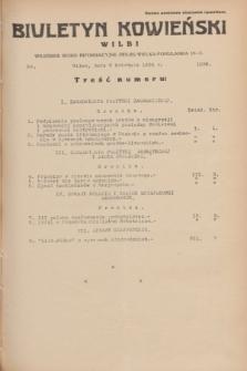 Biuletyn Kowieński Wilbi. 1934, nr 1036 (5 kwietnia)