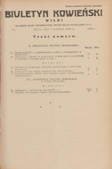 Biuletyn Kowieński Wilbi. 1934, nr 1038 (7 kwietnia)