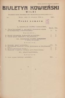 Biuletyn Kowieński Wilbi. 1934, nr 1041 (12 kwietnia)