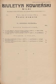 Biuletyn Kowieński Wilbi. 1934, nr 1045 (18 kwietnia)