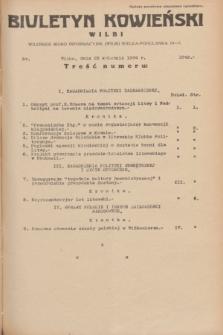 Biuletyn Kowieński Wilbi. 1934, nr 1049 (23 kwietnia)