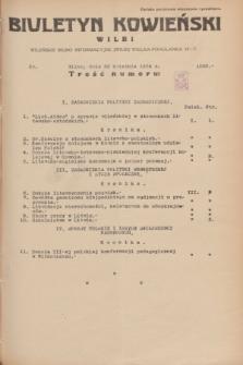 Biuletyn Kowieński Wilbi. 1934, nr 1050 (26 kwietnia)