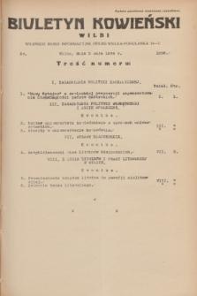 Biuletyn Kowieński Wilbi. 1934, nr 1056 (5 maja)