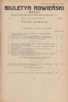 Biuletyn Kowieński Wilbi. 1934, nr 1062 (16 maja)