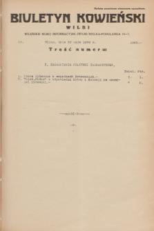 Biuletyn Kowieński Wilbi. 1934, nr 1063 (23 maja)
