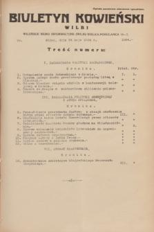 Biuletyn Kowieński Wilbi. 1934, nr 1064 (24 maja)