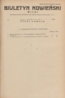 Biuletyn Kowieński Wilbi. 1934, nr 1066 (26 maja)