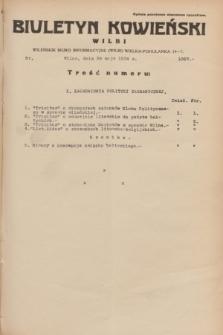 Biuletyn Kowieński Wilbi. 1934, nr 1067 (29 maja)
