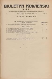 Biuletyn Kowieński Wilbi. 1934, nr 1077 (16 czerwca)