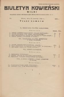 Biuletyn Kowieński Wilbi. 1934, nr 1081 (23 czerwca)