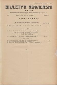 Biuletyn Kowieński Wilbi. 1934, nr 1087 (4 lipca)